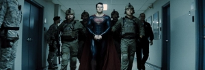 Handcuffing the Man Of Steel, seriously?