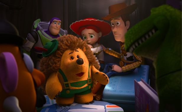 MR. POTATO HEAD, BUZZ LIGHTYEAR,   MR. PRICKLEPANTS, JESSIE, WOODY, REX