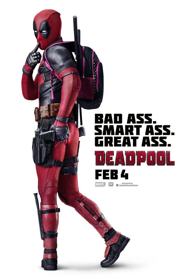 Deadpool International One Sheet - LOWER RES