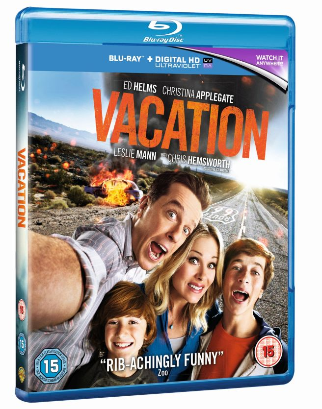 Vacation- Blu-ray