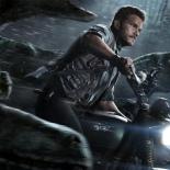 Chris-Pratt-riding-with-the-raptor-squad-in-Jurassic-World-Poster-Wallpaper
